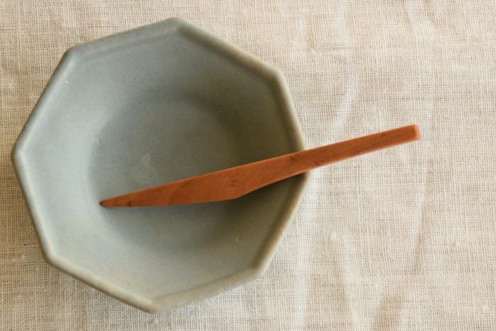 Semi-Aco 加賀雅之|菓子切(山桜) 正面 お茶の時間をあげてくれる素敵な菓子切