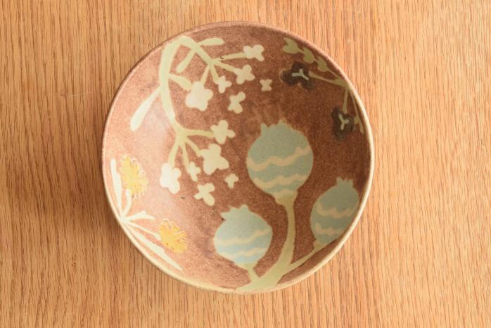 沖澤 真紀子|ピンクHana Bowl(M)