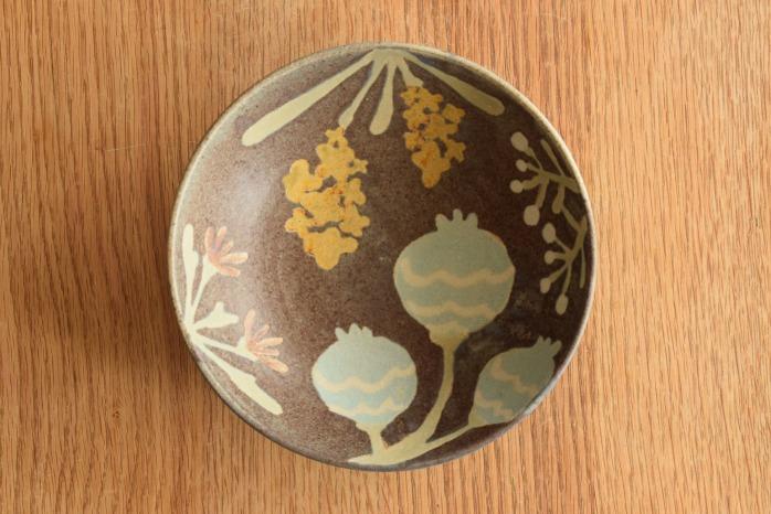 沖澤 真紀子|パープルHana Bowl(M) hanaシリーズ、ボウルも素敵です。