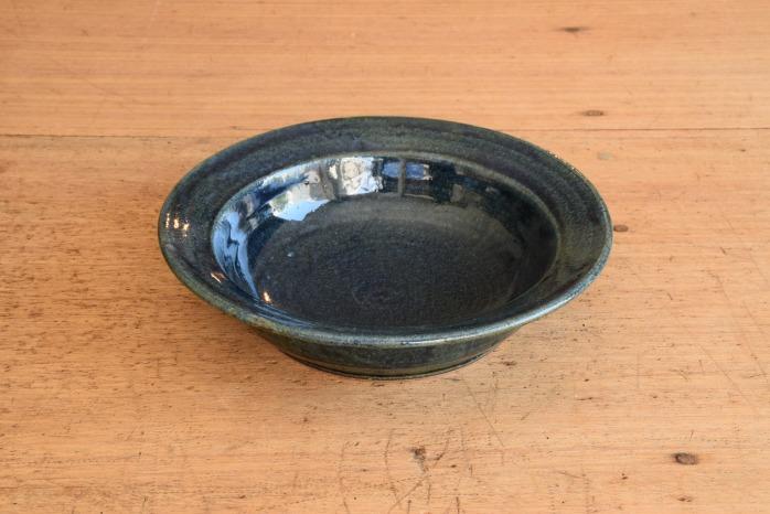 中村恵子|インディゴスープ鉢 楕円のうつわはとても重宝
