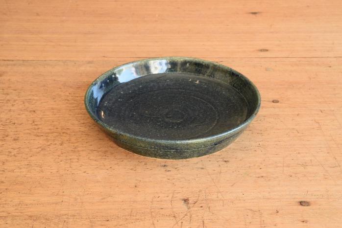 中村恵子|インディゴバスク鉢(小) 水平