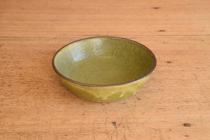 中村恵子|深緑ドラ鉢  水平