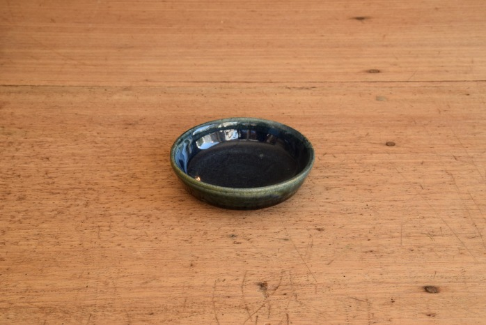 中村恵子|インディゴバスク鉢(ミニ) 水平
