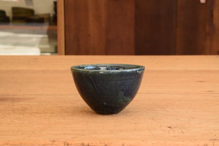 中村恵子|黒カフェオレボウル 水平