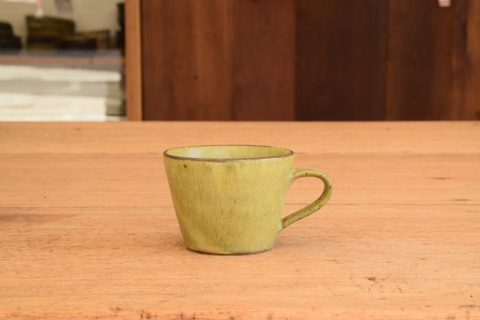 中村恵子|深緑マグカップ(小) 水平