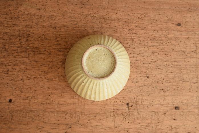 折笠秀樹|ワラマット釉シノギ小丼鉢