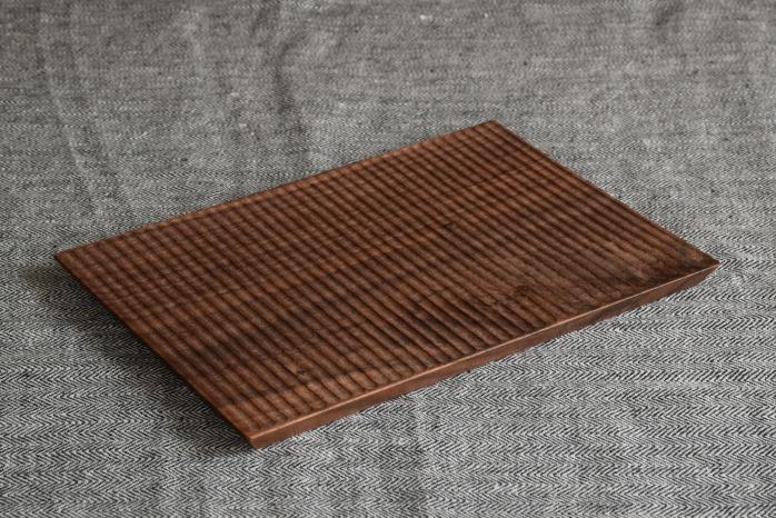Semi-Aco 加賀雅之|pan皿(ウォールナット細)